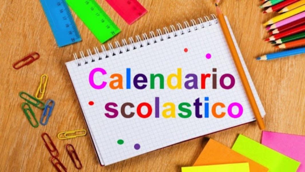 CALENDARIO SCOLASTICO 2020 - 2021