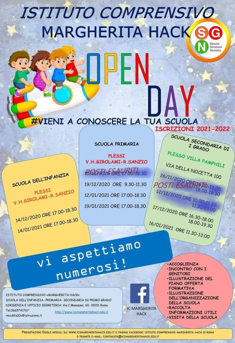 DATE OPEN DAY