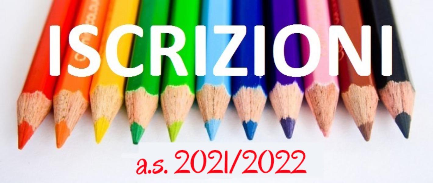 INFANZIA - MODULO DI ISCRIZIONE 2021 - 2022